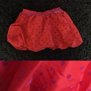 NWOT girls Cherokee bubble skirt